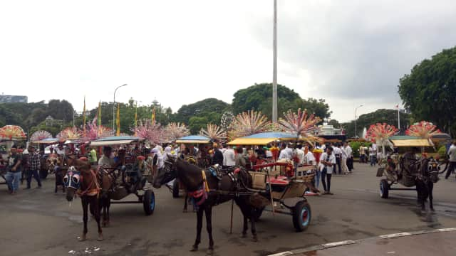 20 Delman Siap Arak Anies-Sandi Usai Dilantik Jokowi