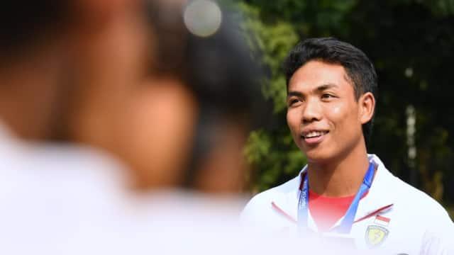 Tak Ada Target Medali untuk Lalu Zohri di Asian Games