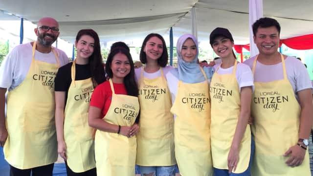 L'Oreal Indonesia Bantu Anak-anak di Cilincing Melalui Citizen Day