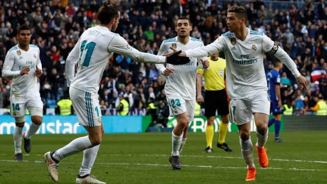 Trio BBC Cetak Gol, Madrid Bantai Alaves 4-0