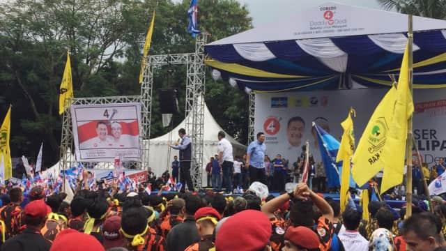 SBY, Ani Yudhoyono, hingga AHY Meriahkan Kampanye Demiz-Demul di Bogor