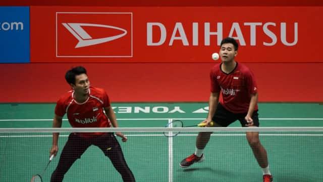 Permintaan Maaf Ahsan/Hendra Setelah Indonesia Gagal ke Final