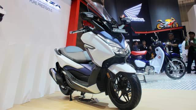 Honda Forza Sudah Dipesan 800 Unit