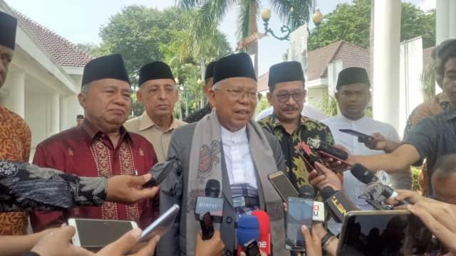 Ma'ruf Amin Ungkap Kriteria Ketua Timses: Loyal dan Diterima Koalisi