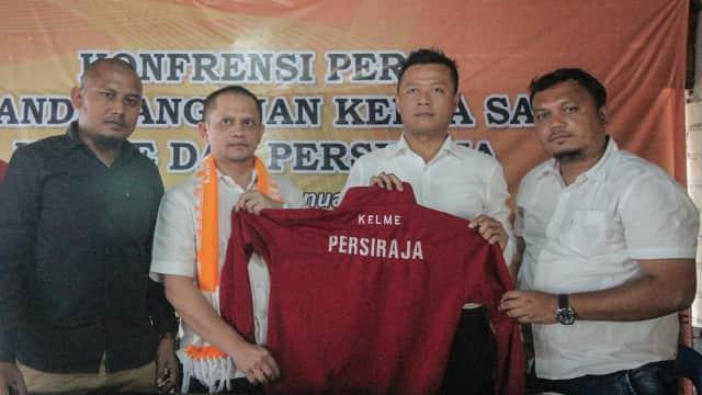Apparel asal Spanyol, Kelme, Sponsori Persiraja Banda Aceh