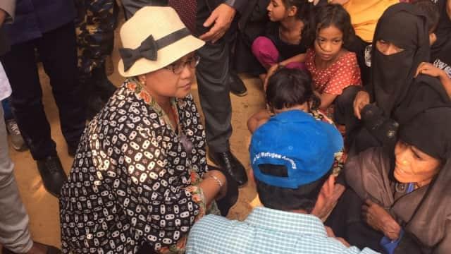 RI Dorong Myanmar-Bangladesh Selesaikan Negosiasi Repatriasi Rohingya