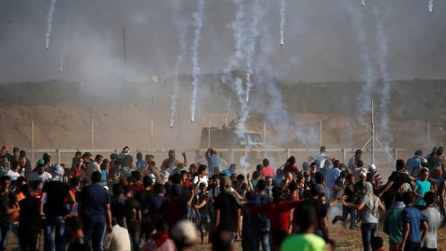 Tentara Israel Bunuh Dua Demonstran Palestina di Perbatasan Gaza