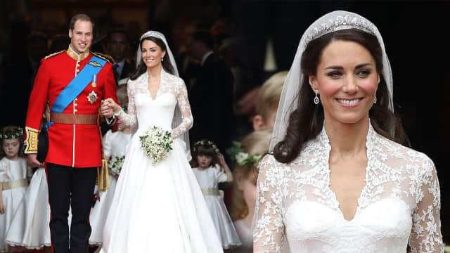 Daftar Makeup yang Dipakai Kate Middleton di Hari Pernikahannya
