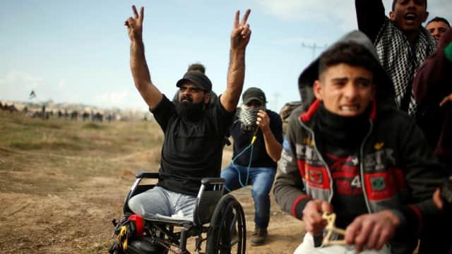 Israel Selidiki Kematian Demonstran Berkursi Roda asal Palestina