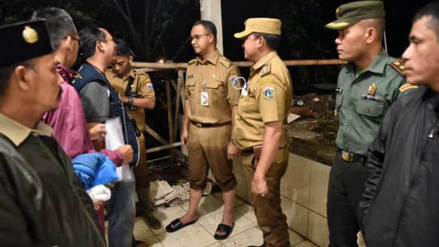 Anies Sebut Proyek Infrastruktur Sebabkan Banjir di Jakarta