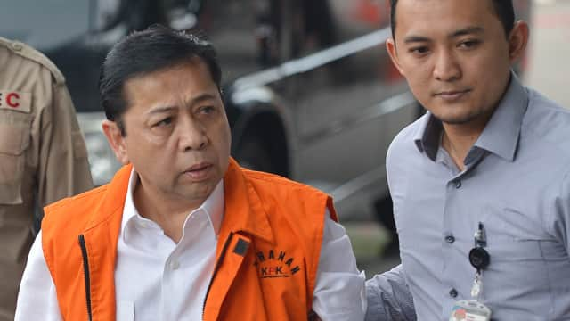 Novanto Pernah Diminta Mundur dari Ketua DPR di Rapat Fraksi Golkar