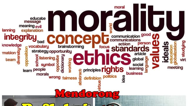 moral or immoral in the business