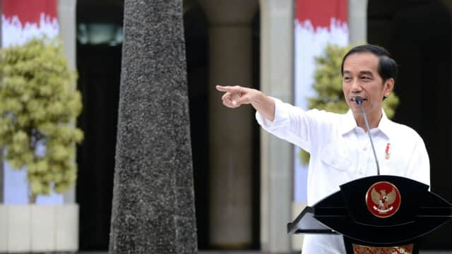 Jokowi: PAN Diundang Rapat di Istana, Mungkin Undangannya Tak Sampai