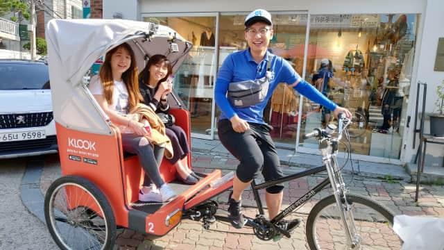 Mencoba Wisata Naik Becak di Seoul, Korea Selatan