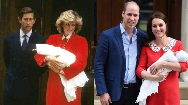 Lahirkan Anak Ketiga, Gaun Kate Middleton Disebut Mirip Putri Diana