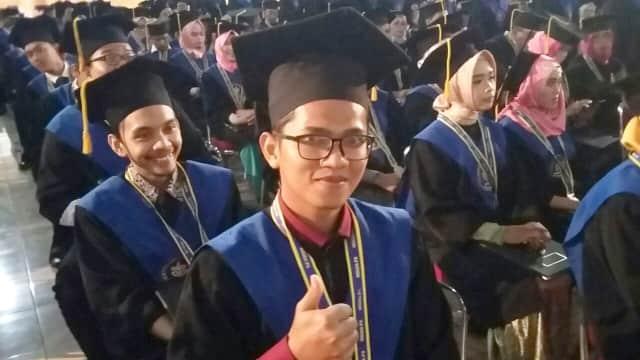Marbot Masjid Jadi Lulusan Terbaik di Fakultas Peternakan IPB