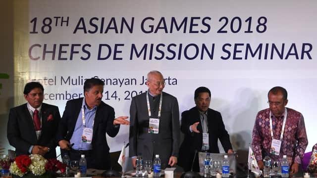 Kemenpora Tunggu Proposal Anggaran Cabor Asian Games 2018 Pekan Ini