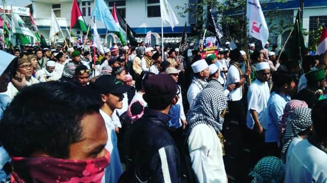 Aksi Bela Rohingya Di Tasikmalaya