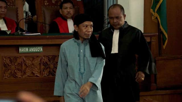 Hakim: Ajaran Aman Pengaruhi Simpatisannya Melakukan Bom Bunuh Diri