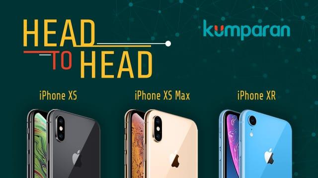 Perbedaan iPhone XS, iPhone XS Max, dan iPhone XR
