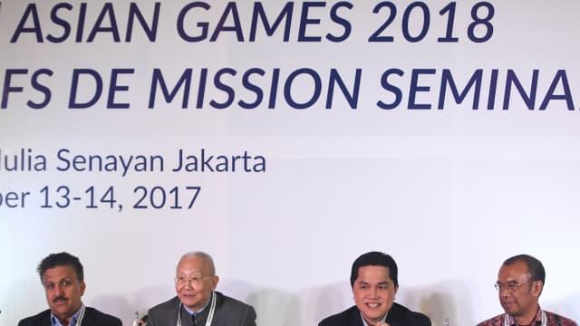 Ketua Kontingen Indonesia untuk Asian Games 2018 Masih Tanpa Nama