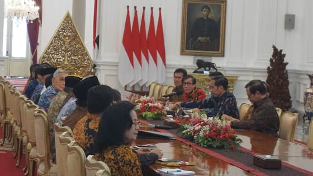 Jokowi Minta BPIP Rancang Pelajaran Pancasila untuk SD hingga SMA