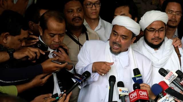 Habib Rizieq: Rebut Jakarta, Jangan Pilih Pemimpin Kafir