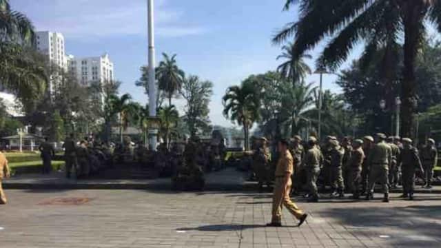 Satpol PP Bandung Diminta Ramah Pada Warga