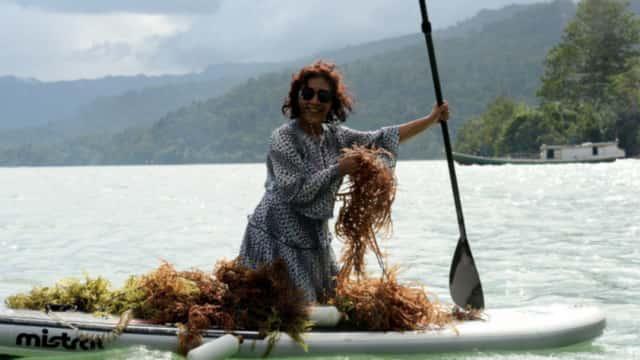 Susi Janji Bersihkan Laut RI dari Sampah Plastik