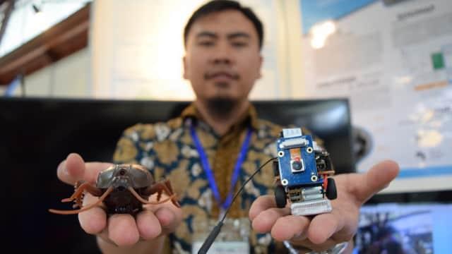 Peneliti ITB Kembangkan Robot Kecoa untuk Operasi Intelijen
