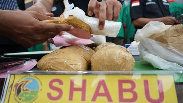 BNN Gagalkan Penyeludupan 30 Kg Sabu dari Malaysia ke Palembang