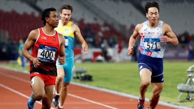 Zohri Jadi yang Tercepat di Heat 3 100 Meter Putra