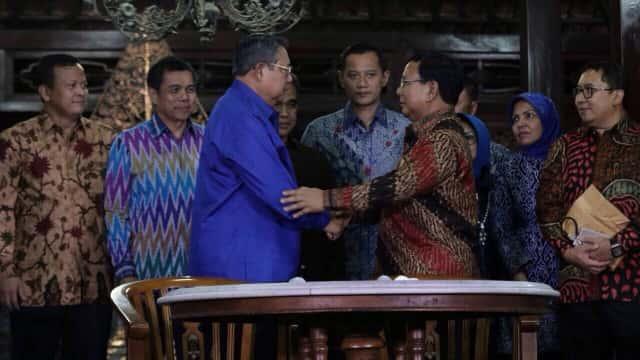 Pertemuan SBY-Prabowo Dijadwal Ulang Selasa, 24 Juli