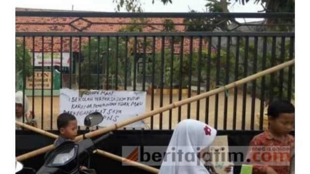 Rangkum 22 September 2018: SD Ditutup Paksa, Polisi Terjerat Narkoba