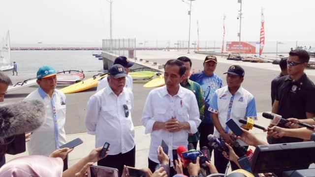 Jokowi: Jetski dan Berlayar Masing-masing Targetkan 2 Medali