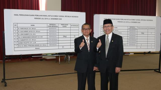 Jaja Ahmad Jayus Terpilih Jadi Ketua KY