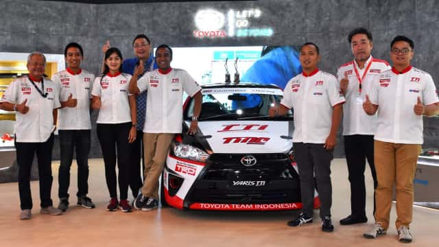 Toyota Team Indonesia Majukan Motorsport Indonesia