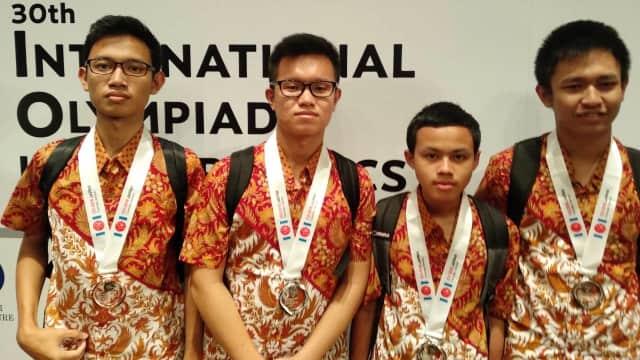 Indonesia Raih 4 Medali di Olimpiade Informatika Internasional 2018