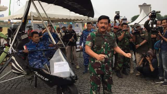 Panglima TNI Resmi Buka Pameran Alutsista di Monas