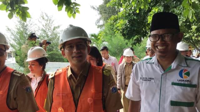Sandi Serahkan Pemilihan Lahan Rumah DP 0 Rupiah ke Dinas Perumahan