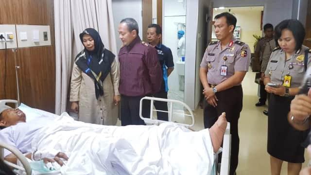 Kondisi Bripda Yogi Korban Bom Kampung Melayu Semakin Membaik