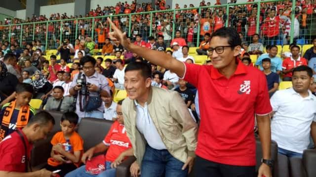 Sandi Tak Mau Nodai Kemenangan Persija dengan Polemik Penyerahan Piala
