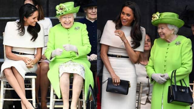 7 Bukti Keakraban Ratu Elizabeth II dengan Meghan Markle