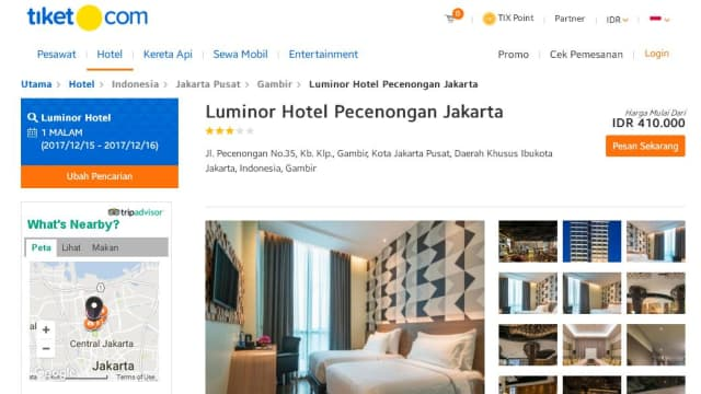 Butuh Referensi Hotel yang Nyaman? Tiket.com Solusinya!