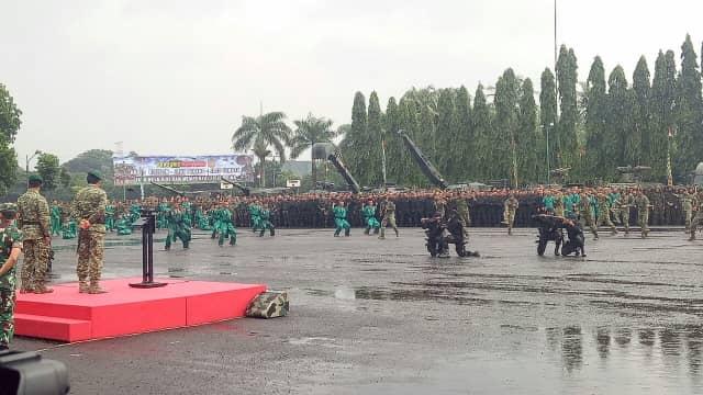Panglima TNI Rotasi 3 Jenderal di Lingkungan Kostrad