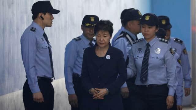 Pengadilan Korsel Vonis Eks Presiden Park Geun-hye 24 Tahun Penjara