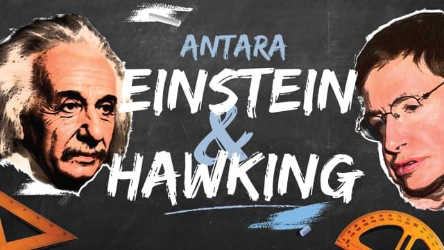 Antara Einstein dan Hawking
