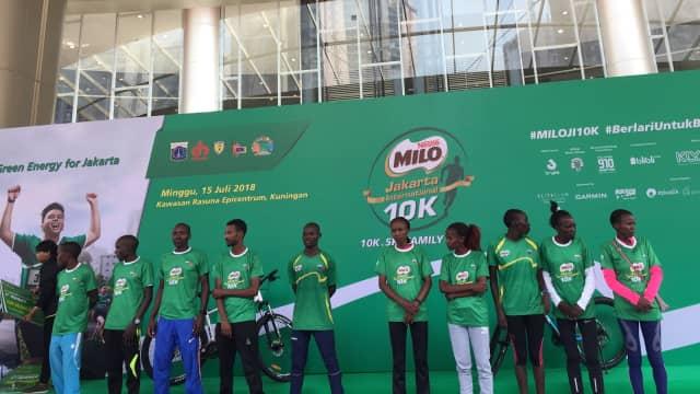 Pelari Kenya Dominasi Milo Jakarta International 10K 2018