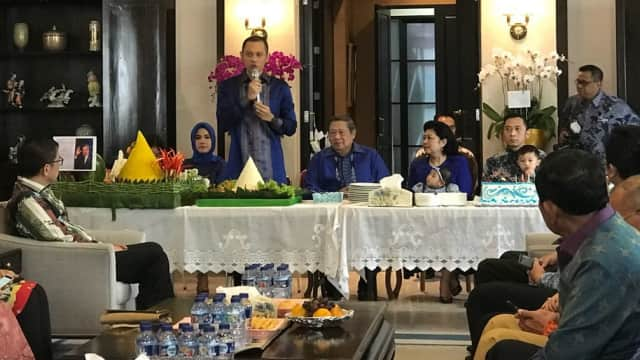 Doa Khusus AHY untuk SBY yang Berulang Tahun ke-69