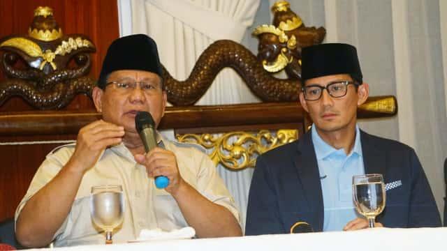 Prabowo Umumkan Susunan Timses Selasa: SBY dan AHY Termasuk